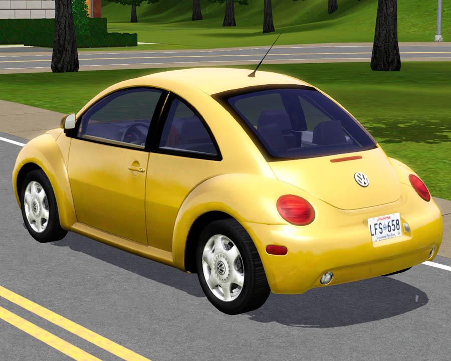 mod the sims 2003 volkswagen new beetle. Black Bedroom Furniture Sets. Home Design Ideas