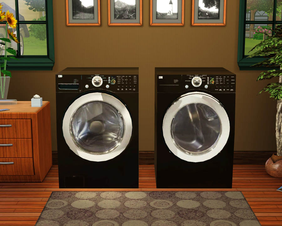 Mod The Sims Decorative Lg Washer Amp Dryer