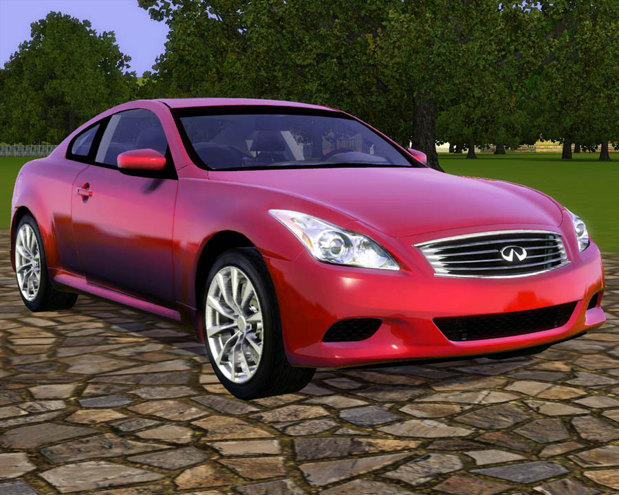 Mod The Sims 2010 Infiniti G37 Coupe