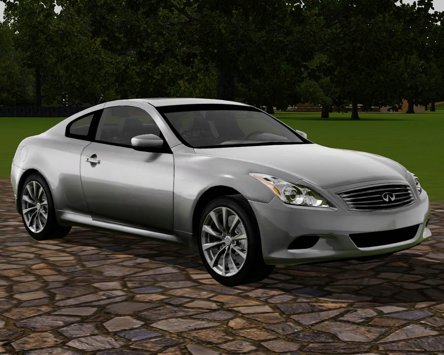 mod the sims 2010 infiniti g37 coupe. Black Bedroom Furniture Sets. Home Design Ideas