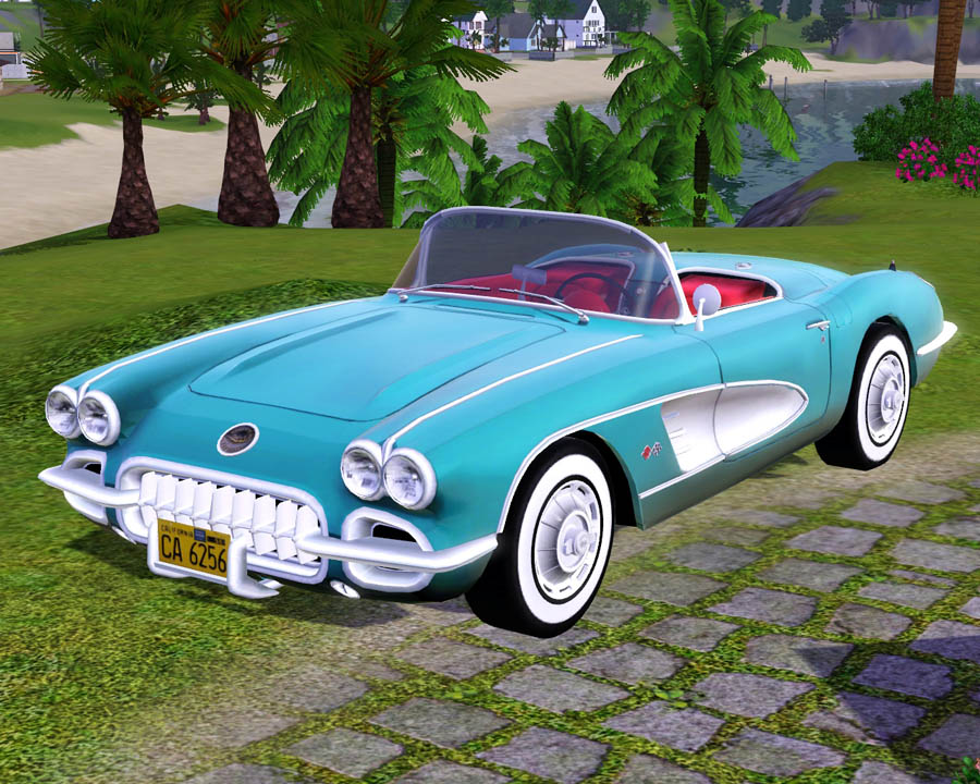 The Sims  Retro Cars