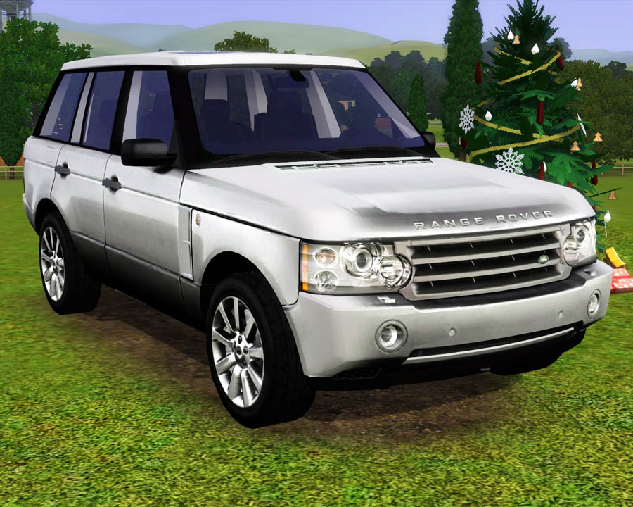 mod the sims 2009 land rover range rover. Black Bedroom Furniture Sets. Home Design Ideas