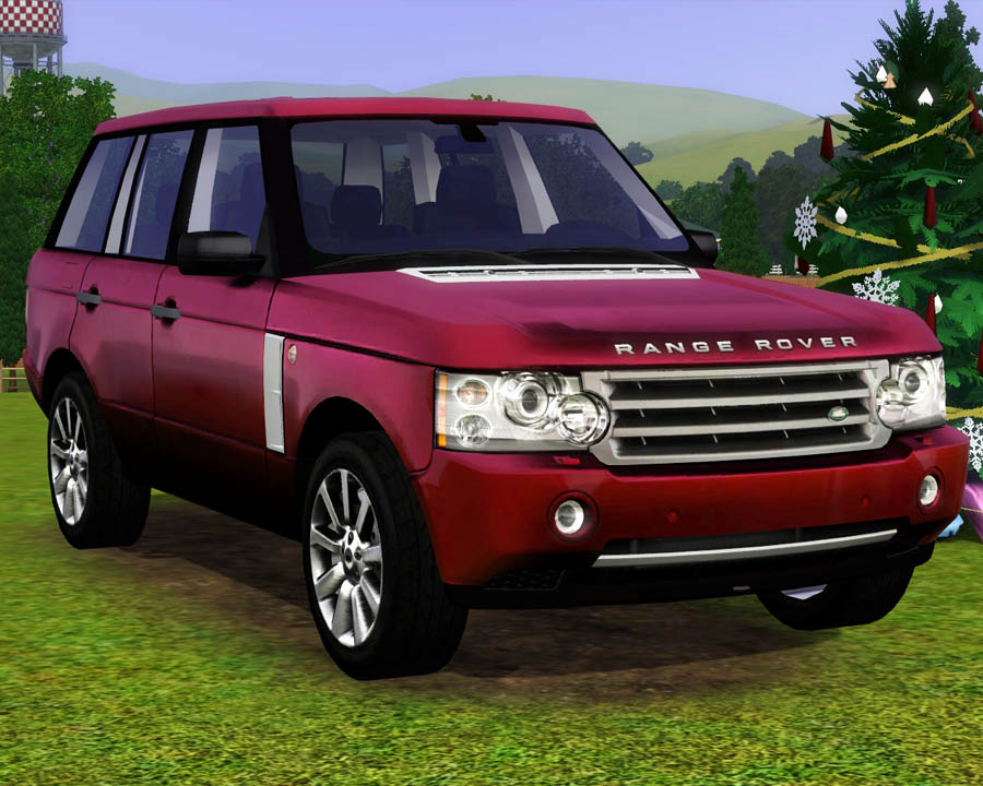 mod the sims 2009 land rover range rover. Black Bedroom Furniture Sets. Home Design Ideas