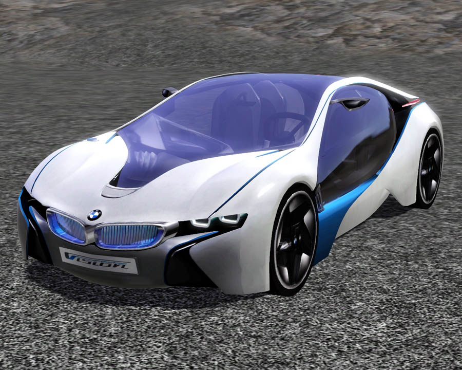 mod the sims 2009 bmw efficientdynamics concept. Black Bedroom Furniture Sets. Home Design Ideas