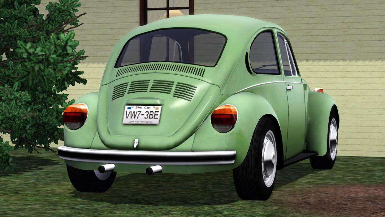 Mod The Sims - 1973 Volkswagen Beetle