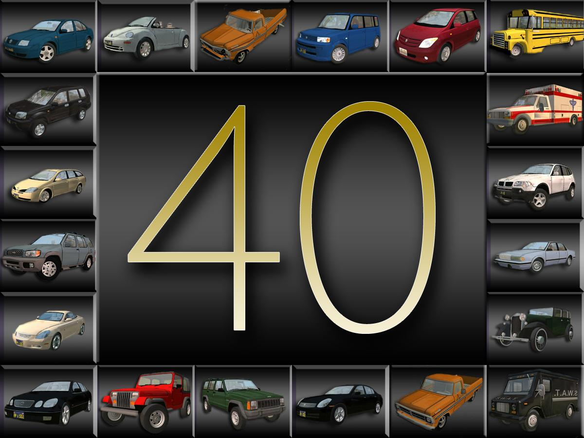 Mod The Sims 40th Car Anniversary 3 New Vehicles