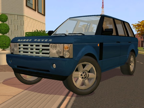 mod the sims update land rover range rover. Black Bedroom Furniture Sets. Home Design Ideas