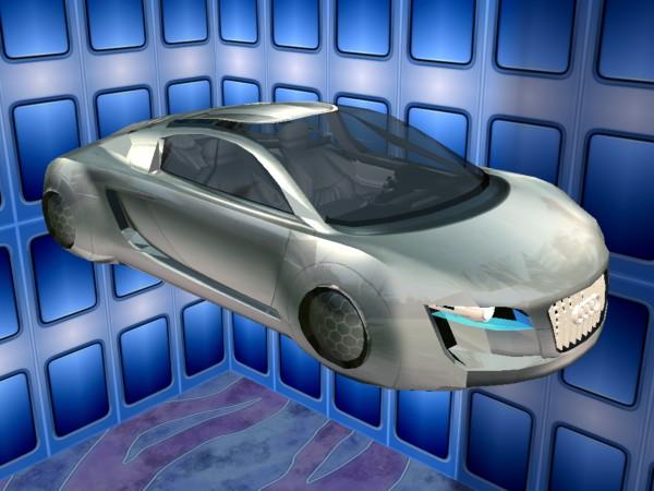 mod the sims 2035 audi rsq. Black Bedroom Furniture Sets. Home Design Ideas