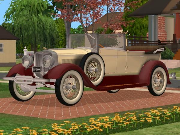 Mod The Sims 1929 Lincoln Phaeton