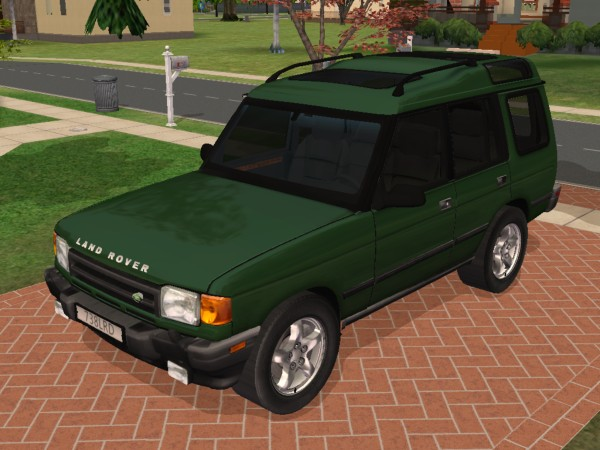 mod the sims 1997 land rover discovery. Black Bedroom Furniture Sets. Home Design Ideas