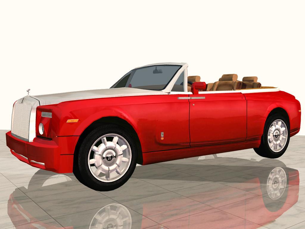 Mod The Sims 2008 Rolls Royce Phantom Drophead Coupe