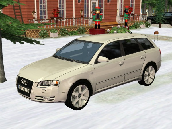 mod the sims 2005 audi a4 avant. Black Bedroom Furniture Sets. Home Design Ideas