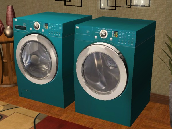 Mod The Sims Lg Dryer Amp Washer Machine