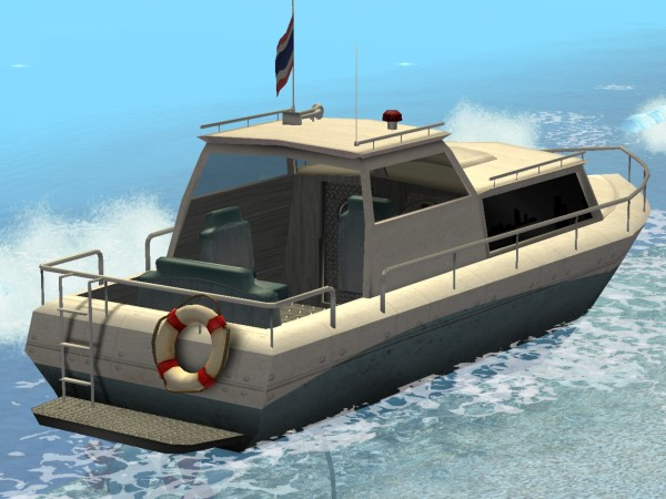 Mod The Sims Quot Thar She Floats Quot Boat Set