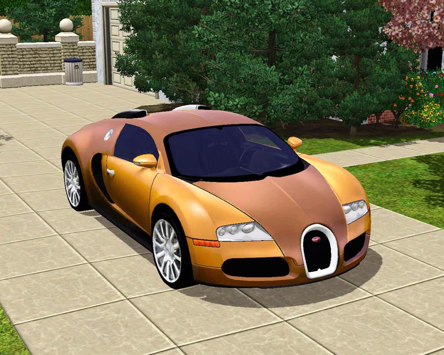 Mod The Sims 2009 Bugatti Veyron