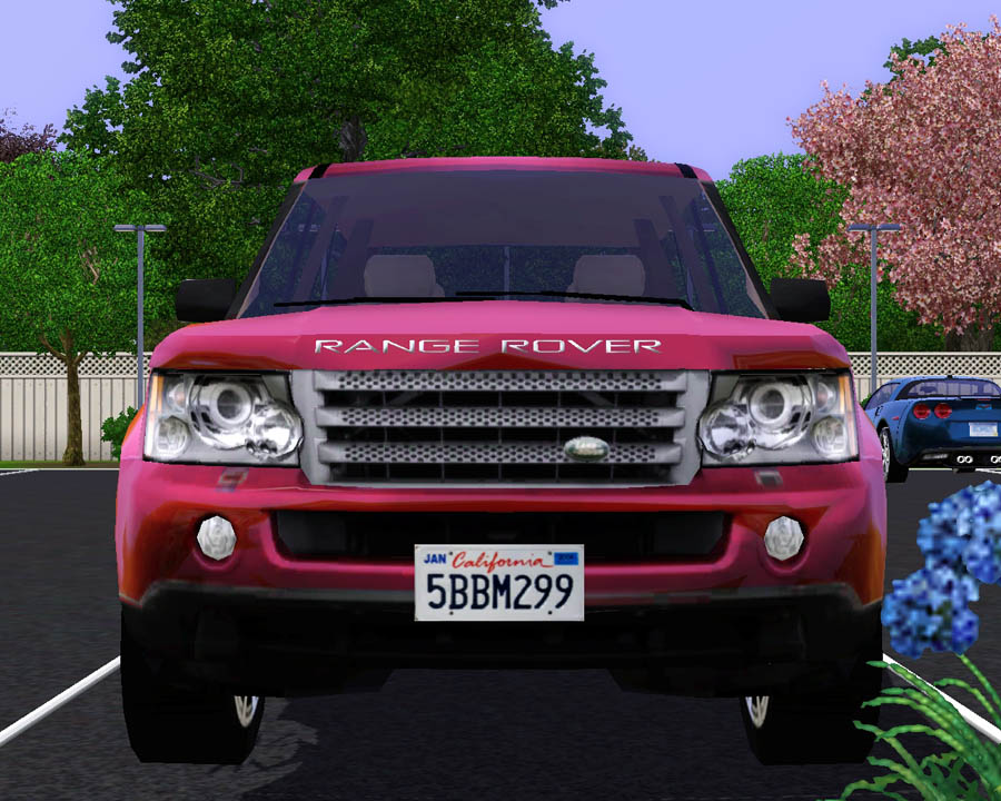 mod the sims 2009 land rover range rover sport. Black Bedroom Furniture Sets. Home Design Ideas