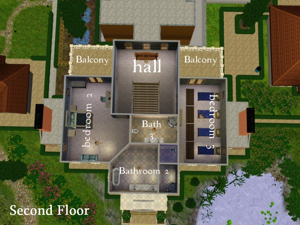 Mod the sims the president 39 s palace 5br 4ba no cc for Sims 4 house plans