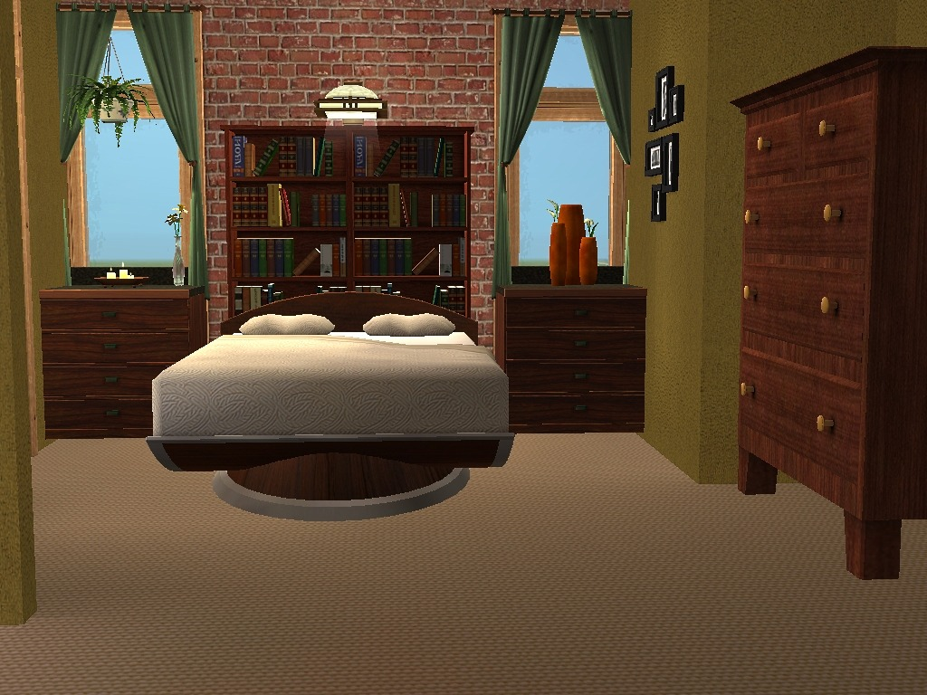 Mod The Sims - 2 Honey Lane - A two story house with 3 bedrooms ...