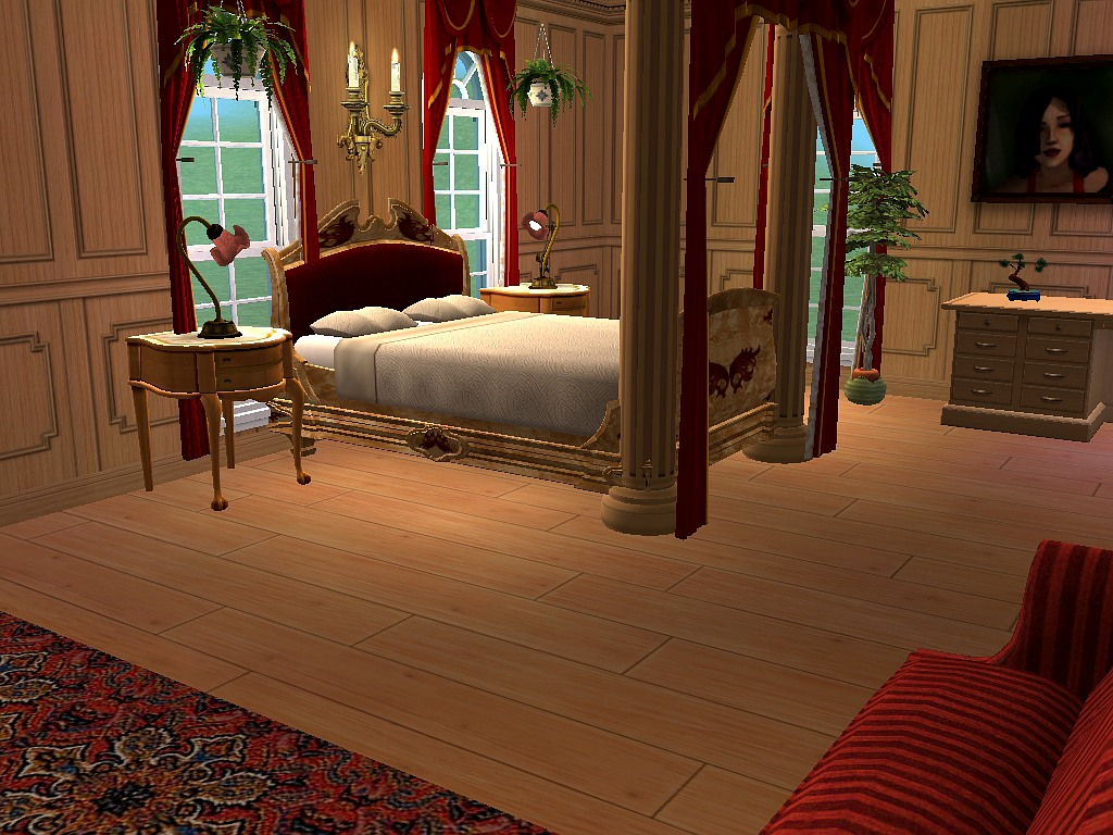 Mod the sims red diamond path a five bedroom and nine for 4 bedroom and 2 baths