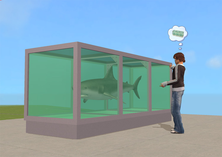 Mod The Sims New Mesh Damiens Pickled Shark