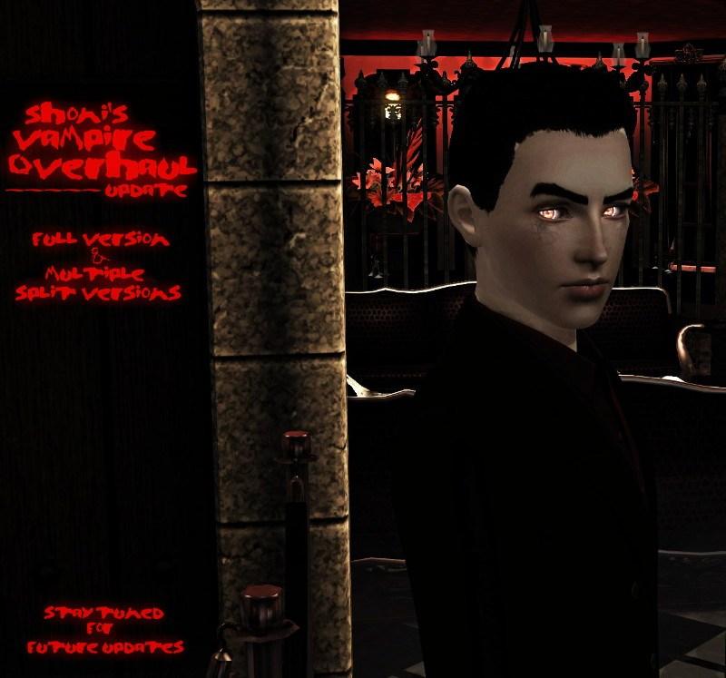 Mod The Sims - sHoNi's Vampire Overhaul - [Island Paradise Update