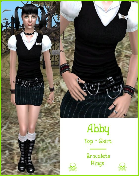 Mod The Sims , NCIS , OUTFITS , Ladies