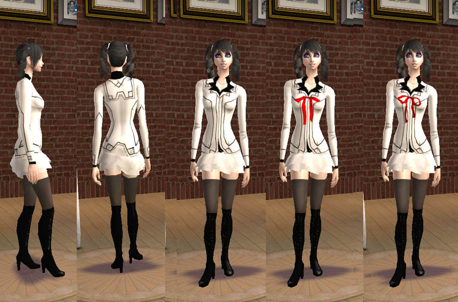 Mod The Sims Vampire Knight Outfits