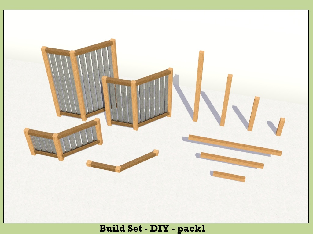 Mod The Sims Build Set Diy Updated 10th Sept 2012