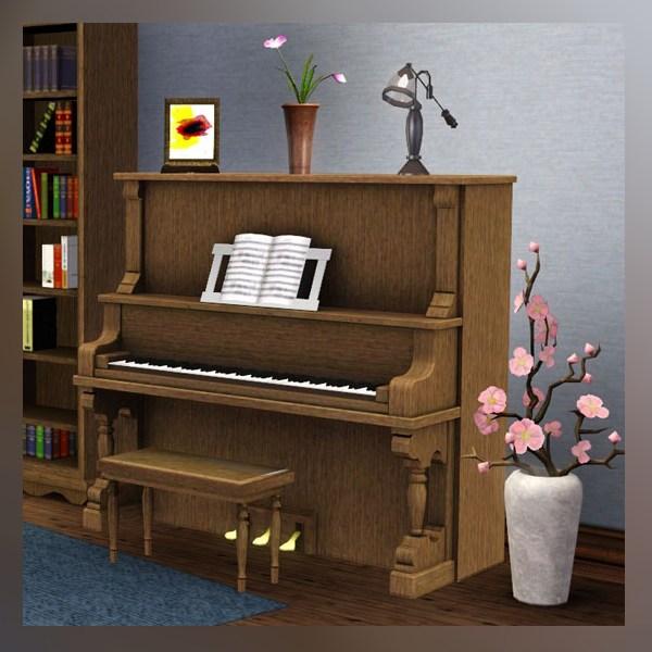 Mod the sims traditional piano for Moderni piani a 4 piani