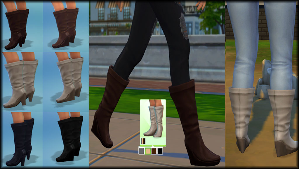 Sims 4 Long Boots Division Of Global Affairs