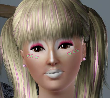 Ganguro girl dating sim