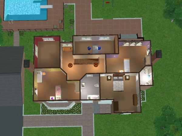 Mod The Sims Maxis Makeover Pleasant House
