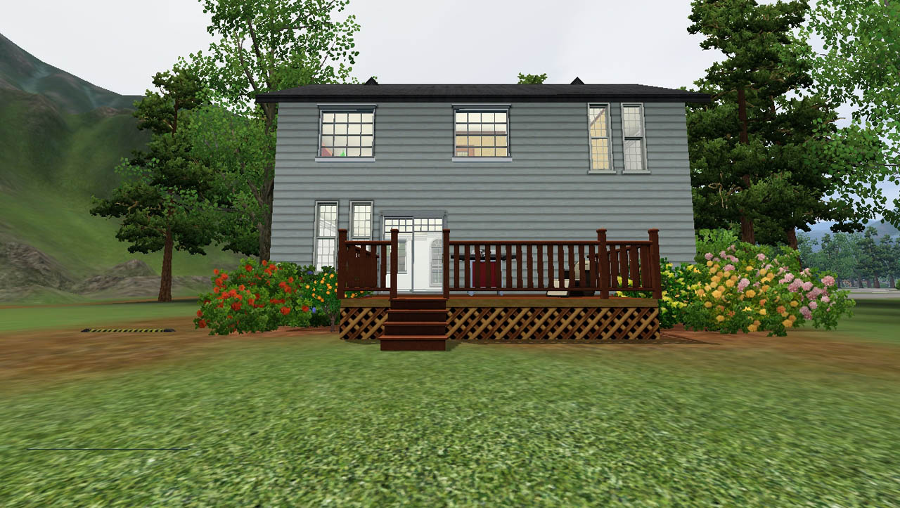 Mod the sims classic family home no cc 3bed 2bath for Classic family home