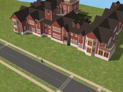 Mod The Sims Rose Red Mansion