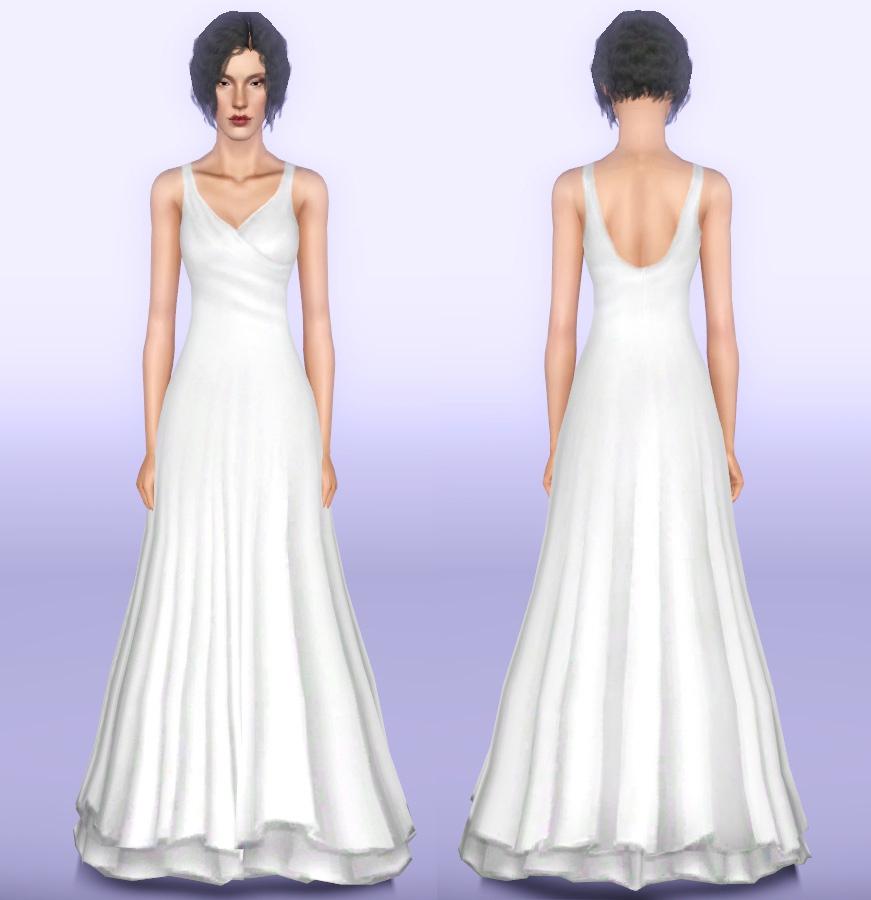 White princess prom dresses