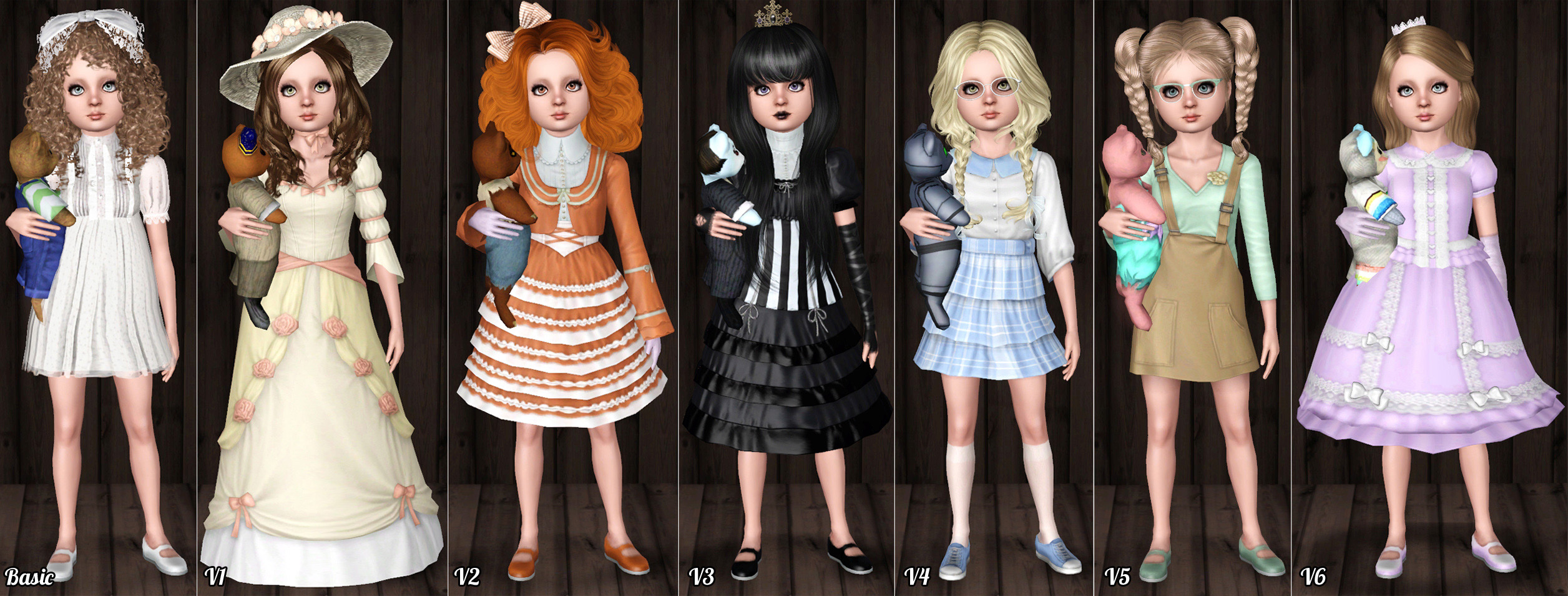 mod the sims   lily   the living doll