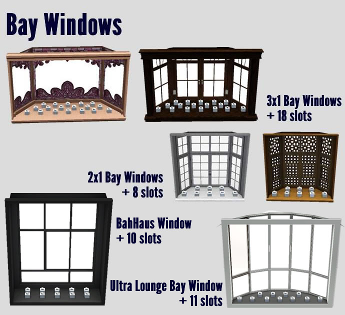 Sims 4 Cc S The Best Windows By Tingelingelater: More Slots For EA Furniture