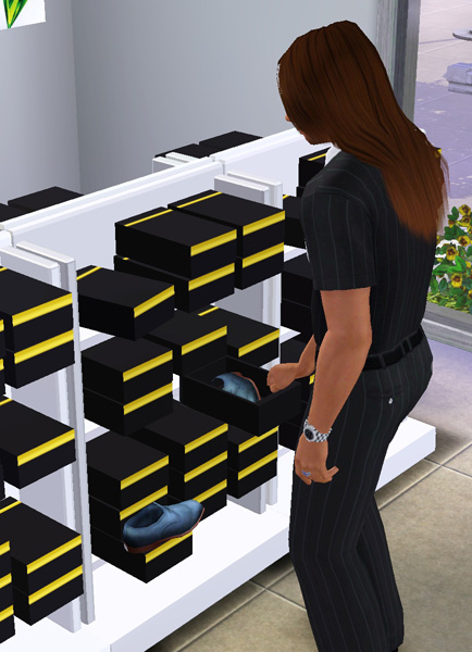 Mod The Sims The Sims 3 Fashion Store Stuff Set 28 New Objects