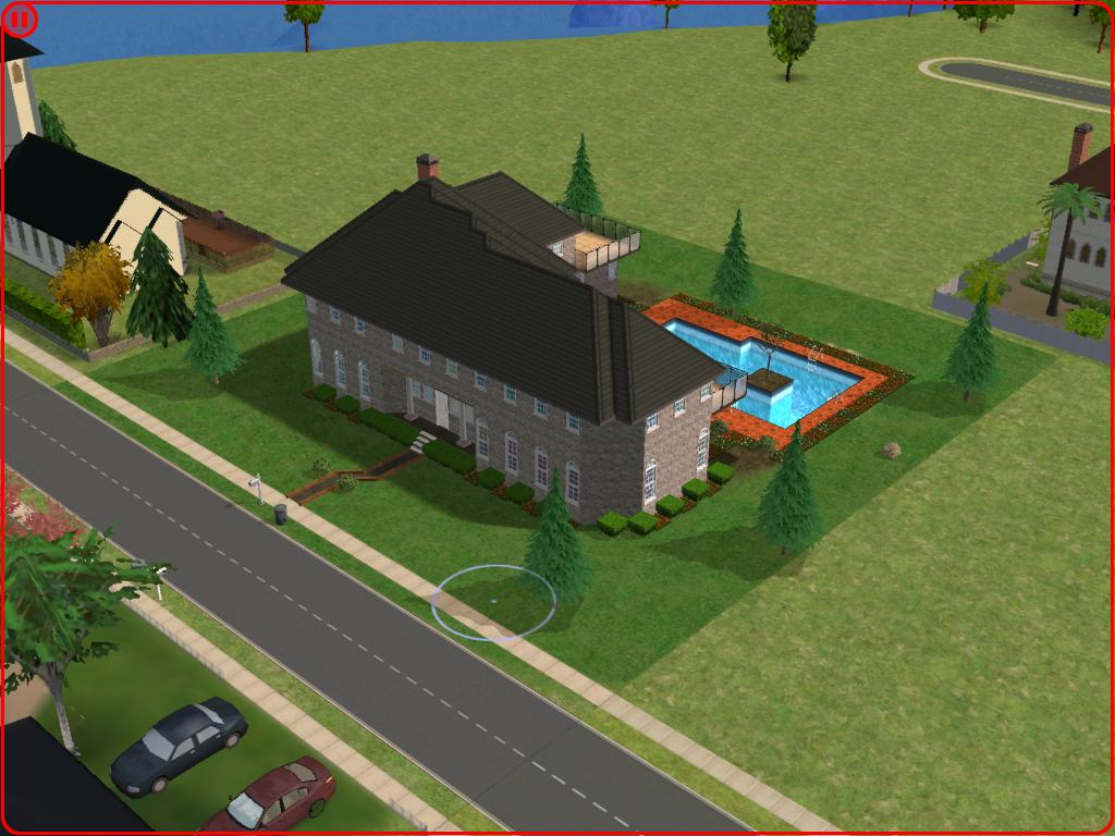 Mod the sims the sims 1 mansion for Sims 3 spielideen