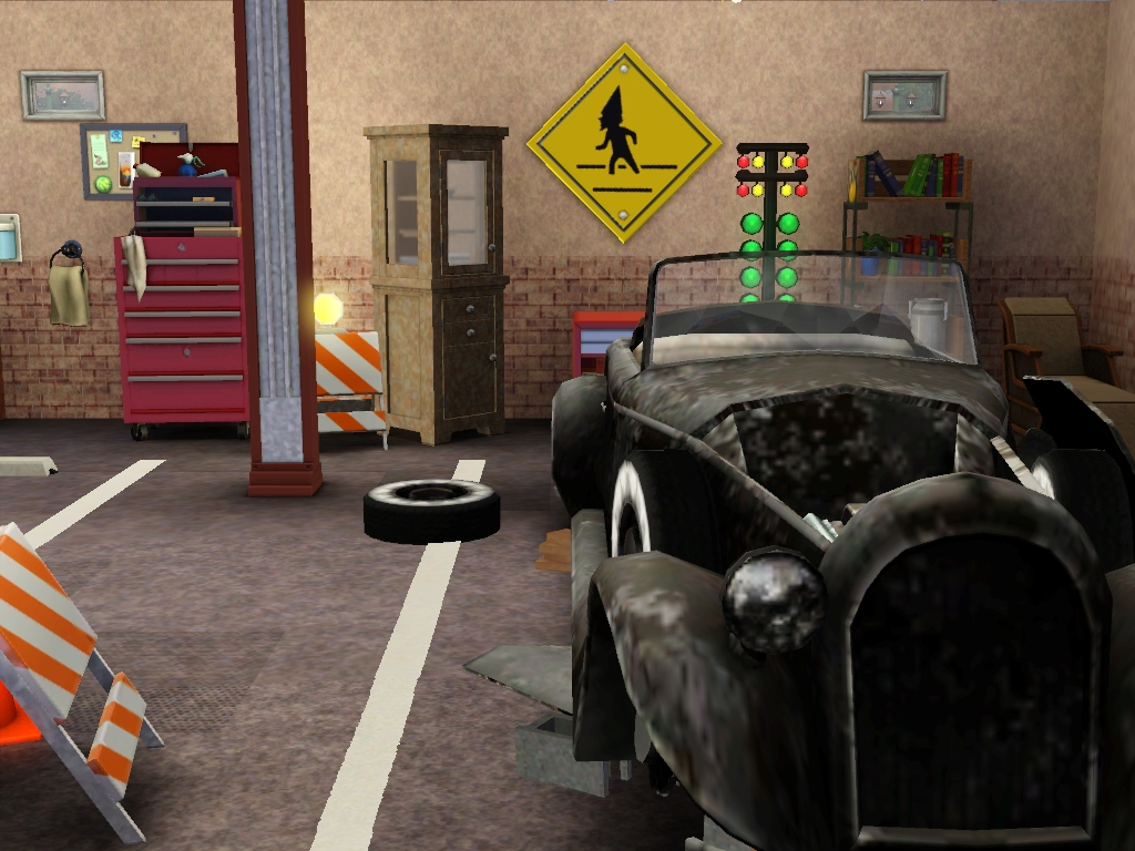 Mod The Sims - Speedy\'s Automotive Repair