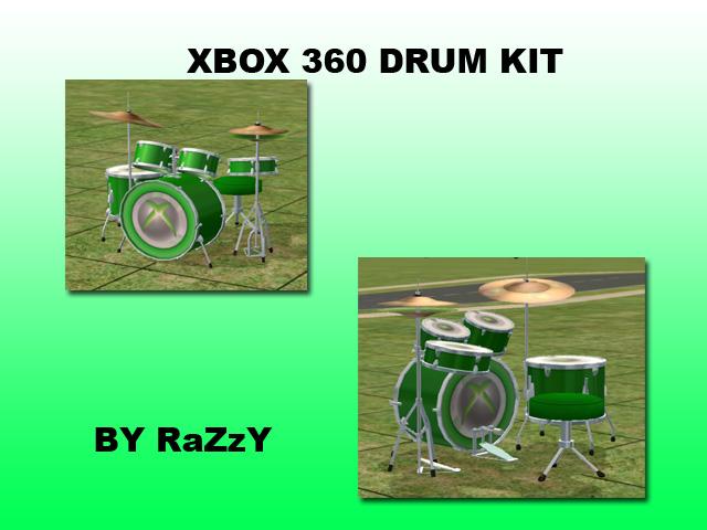 xbox 360 drum kit instructions