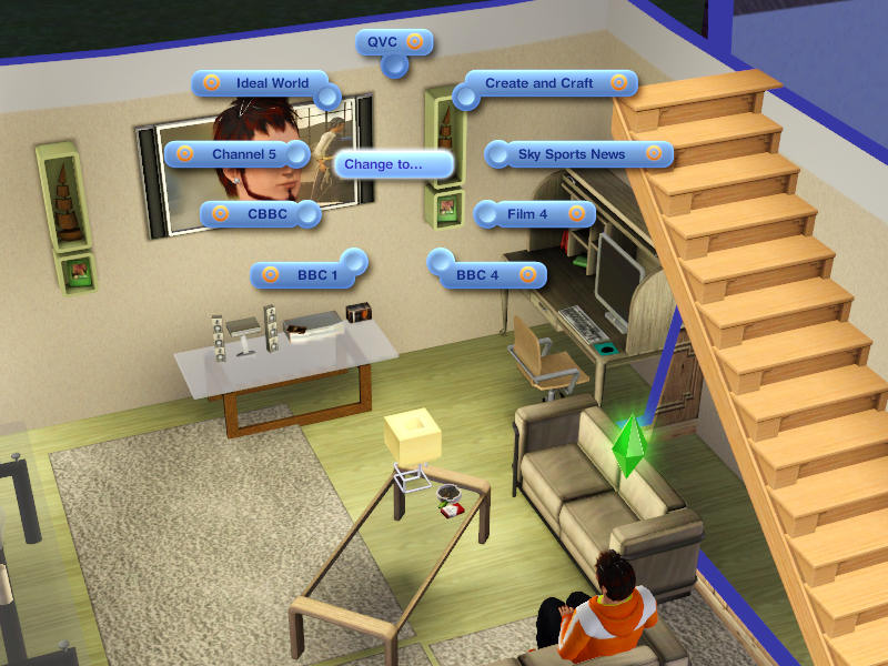Mod The Sims - TV Channels Rename - UK Freeview