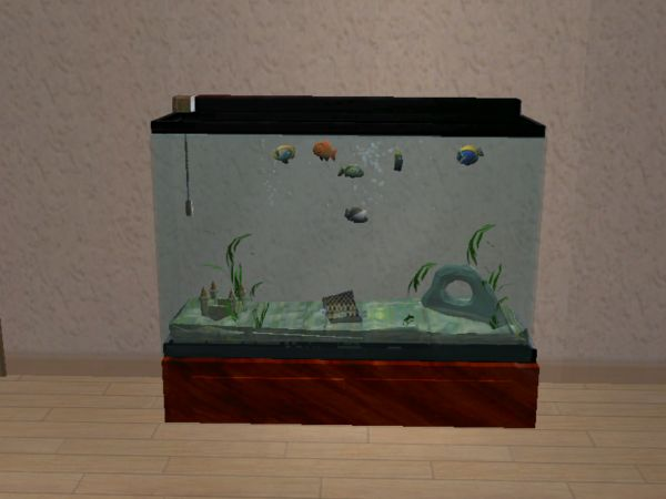 Mod the sims testers wanted new 55 gallon fish aquarium.