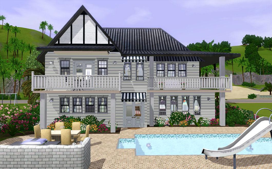 Beach Themed Houses