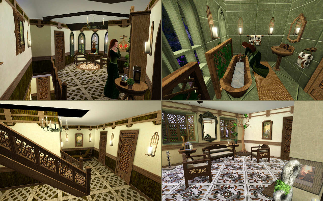 Hobbit Room Source Mod The Sims Mirkwood Glade An Elven Dwelling