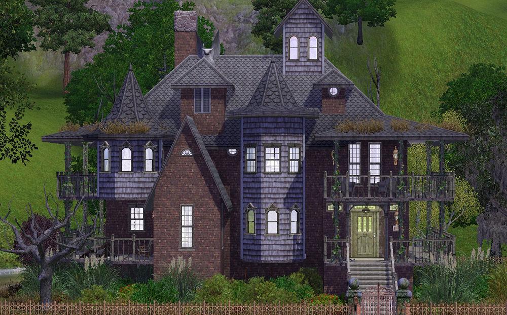 Mod the sims grim 39 s way no cc for 3 4 house