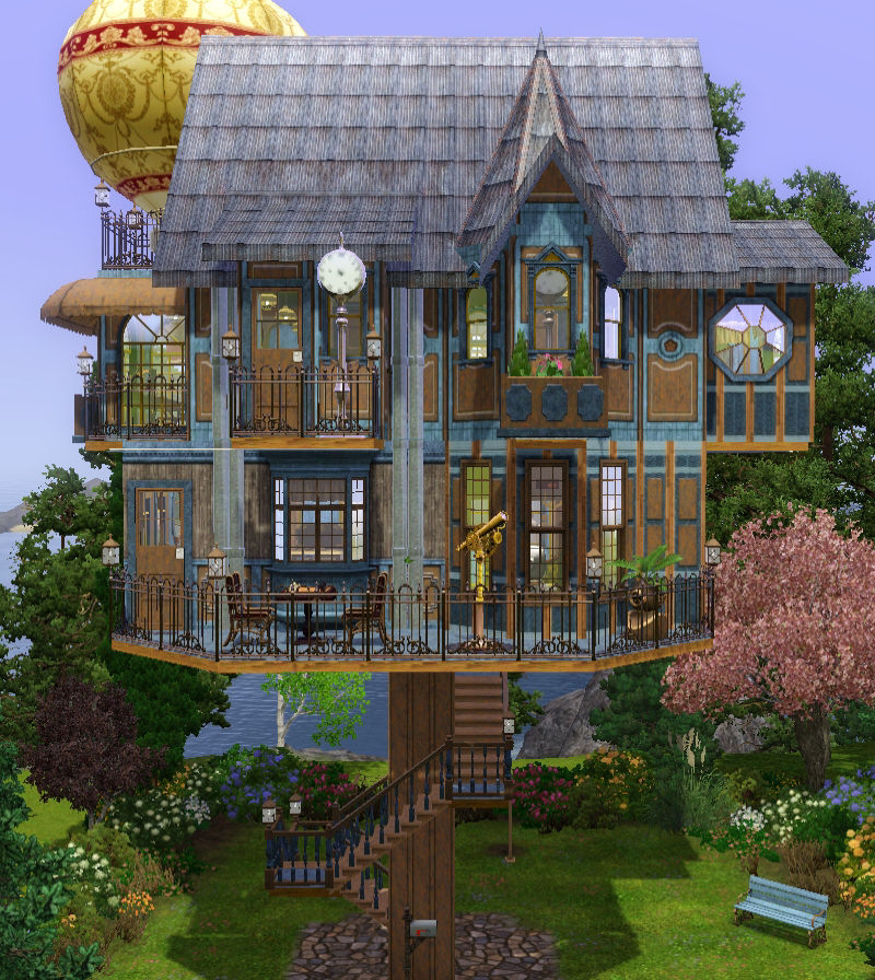Mod the sims steampunk on a stick for Classic house sims 3