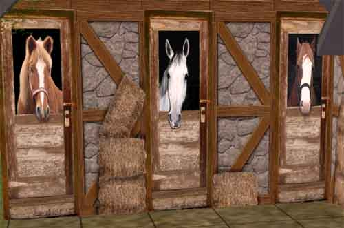 Mod The Sims Testers Wanted Wall Set To Create A Stable