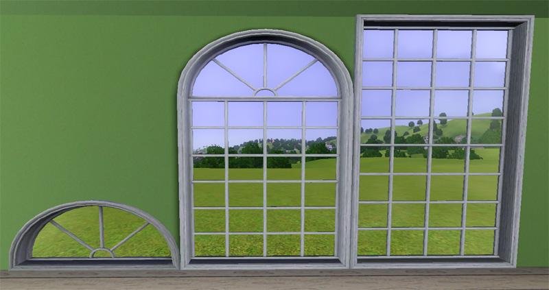 Mod The Sims Quot Ye Olde Window Quot Aka Colonial Windows Ii