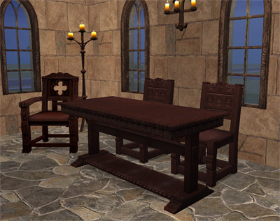 Mod The Sims Medieval Furniture Add Ons